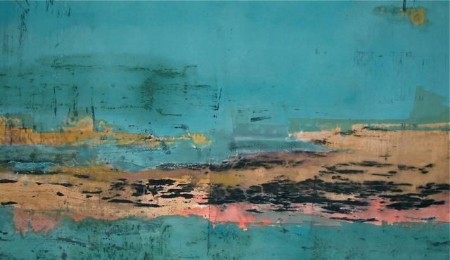 Painting - Streaming Wisdom by Robin Sierra
