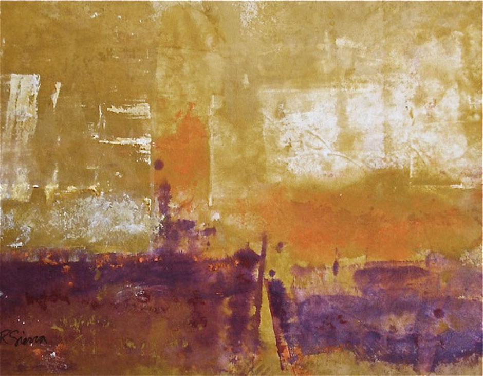 Painting - Jazz by Robin Sierra